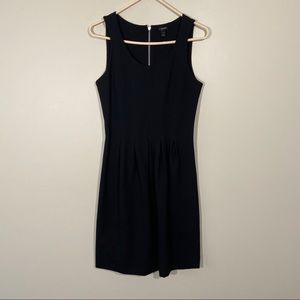J Crew Pleated Fit And Flare Sleeveless Dress 2